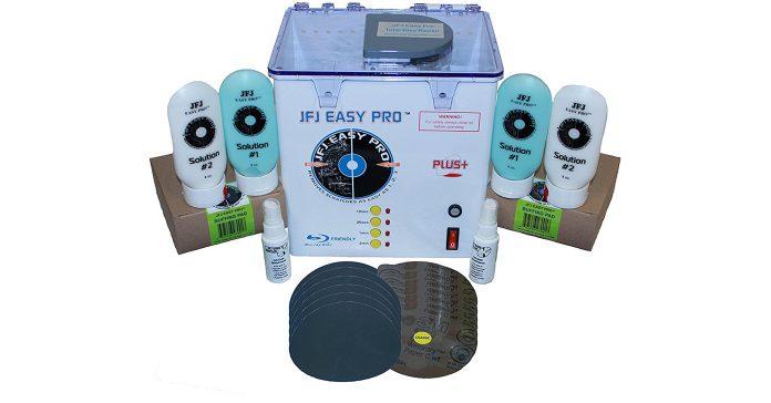CD DVD Scratch Repair Machines