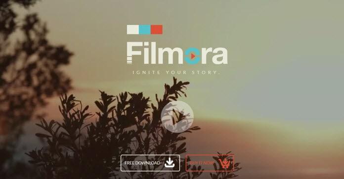 Wondershare Filmora splash screen