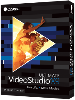 VideoStudio Ultimate X9 Box
